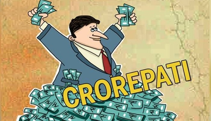 India's Crorepati Count up to 81000- In Detail